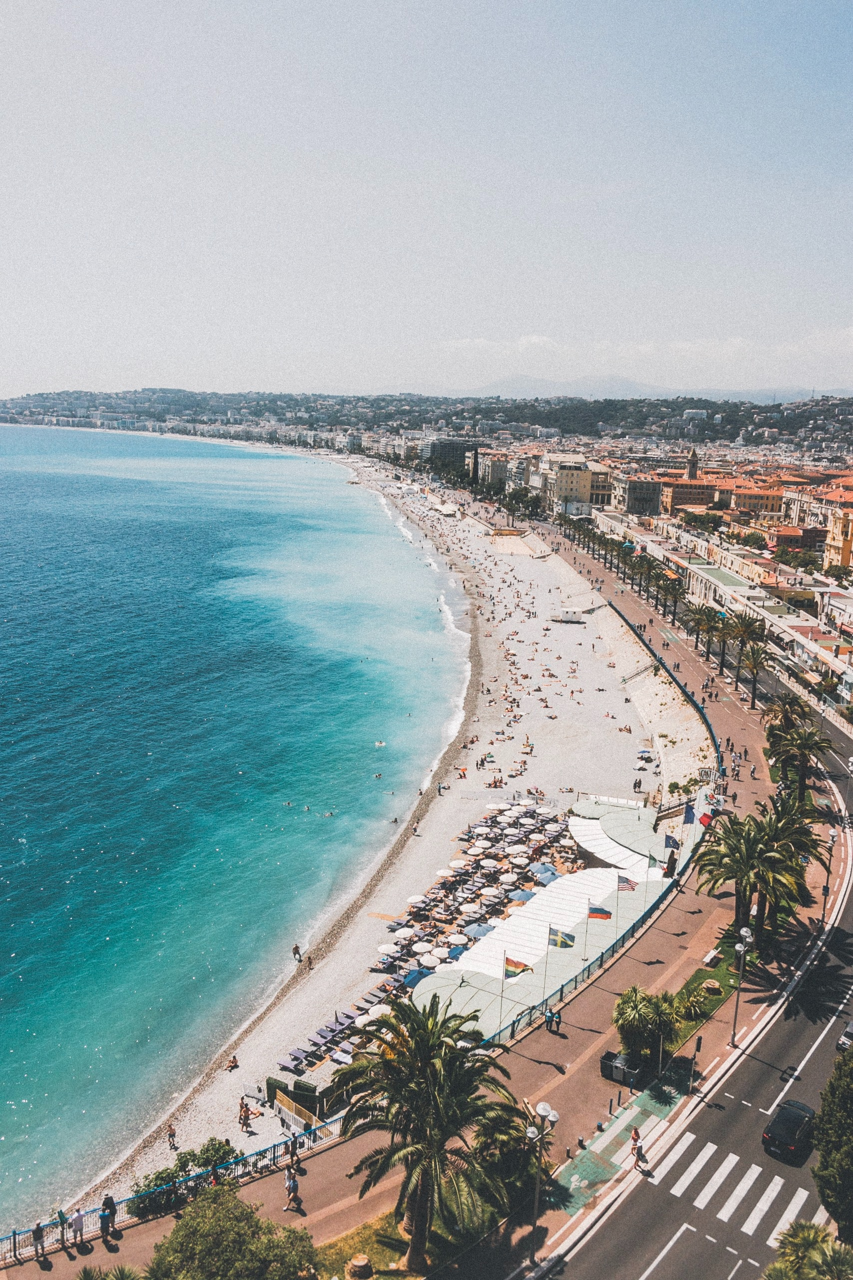 Nice in France as a travel destination based on your favorite emoji.