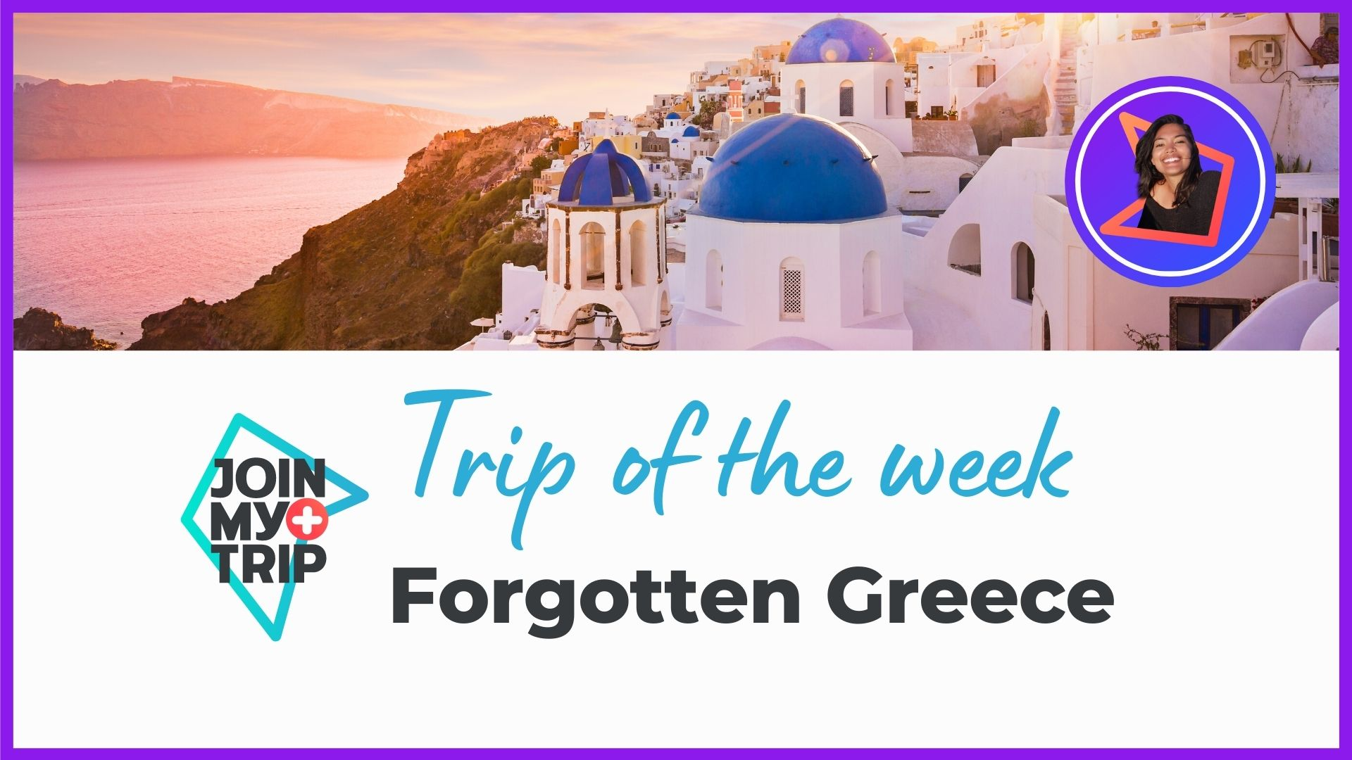 Forgotten Greece on the trip of the week youtube show.