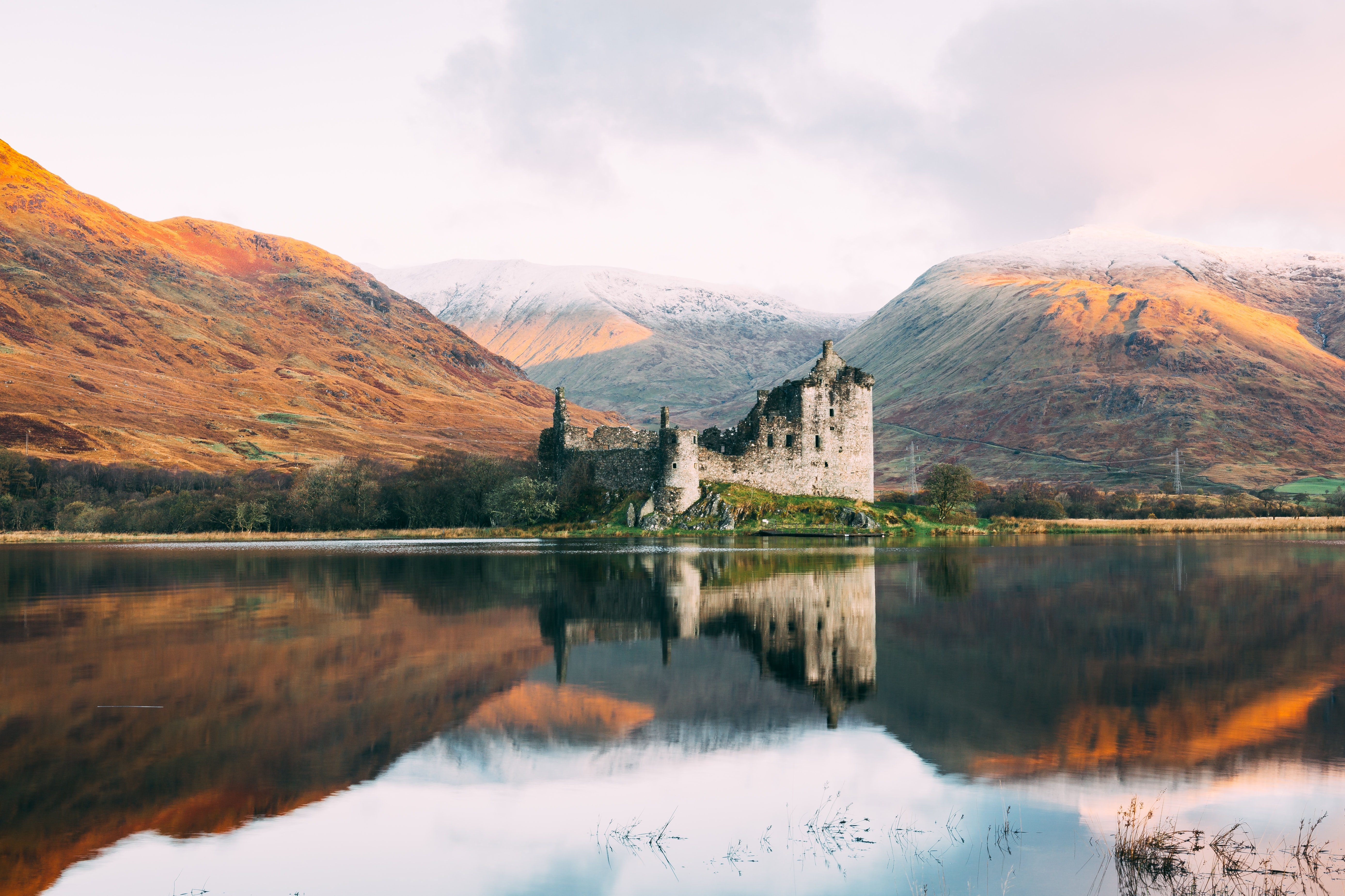 The most beautiful castles for a romantic weekend in Europe.