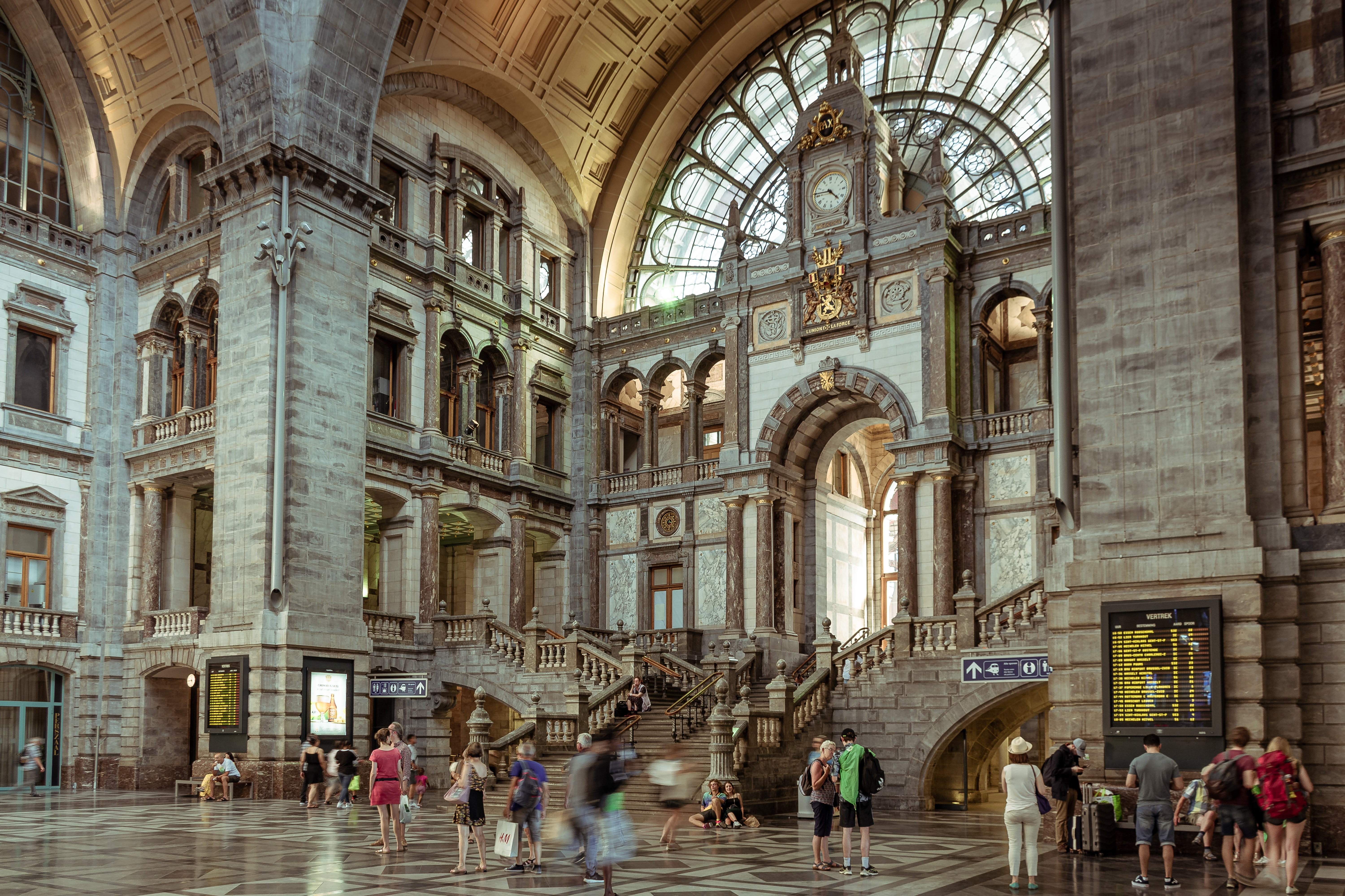 The Most Beautiful Train Stations in the World: Antwerp's magnificent station